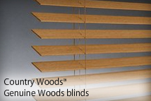 Country Woods® Genuine Woods Blinds